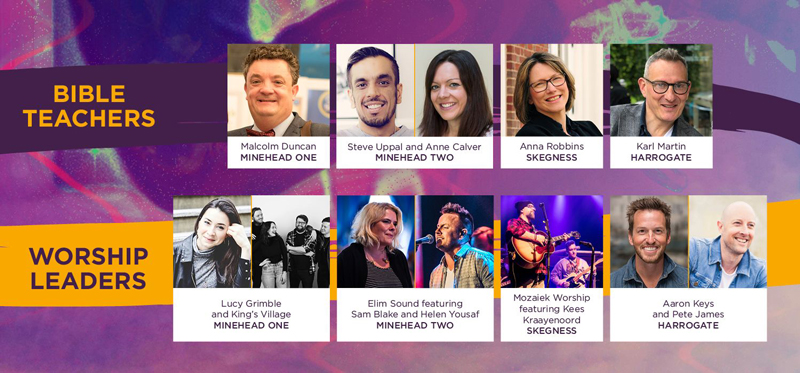 Spring Harvest Festival lineup for 2020